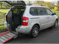 2012(61) KIA SEDONA 2.2 CRDi 3 AUTO LOW FLOOR WHEELCHAIR ACCESSIBLE VEHICLE