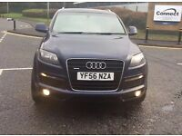 AUDI Q7 3.0L DIESEL S-LINE+QUATTRO+2007+7 SEATER+FULLY LOADED+ROYAL BLUE+MAY PX