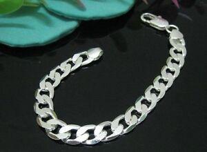 Men's Heavy Sterling Silver Bracelet 925