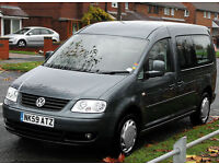 2010(59) VOLKSWAGEN CADDY 1.9 TDi MAXI LIFE DSG AUTO DISABLED WHEELCHAIR ACCESS