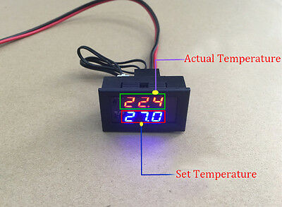 Digital LED Microcomputer Thermostat Controller Switch Temperature Sensor Temperature Control Switch