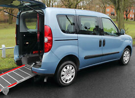 2012(12) FIAT DOBLO 1.4 MYLIFE LOW FLOOR WHEELCHAIR ACCESSIBLE VEHICLE ~ AIRCON