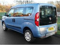 2013(62) FIAT DOBLO 1.4 MYLIFE LOW FLOOR WHEELCHAIR ACCESSIBLE VEHICLE