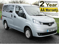 2012(61) NISSAN NV200 1.5 DCi SE LOW FLOOR WHEELCHAIR ACCESSIBLE VEHICLE