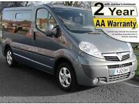 2012(12) VAUXHALL VIVARO 2.0 CDTi SPORTIVE CHAIRLIFT WHEELCHAIR ACCESSIBLE