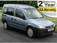 2011(11) VAUXHALL COMBO 1.3 CDTi TOUR ESSENTIA AUTO WHEELCHAIR ACCESSIBLE