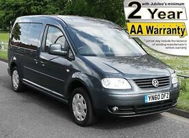 2011(60) VOLKSWAGEN CADDY 1.9 TDi MAXI LIFE LOW FLOOR WHEELCHAIR ACCESSIBLE
