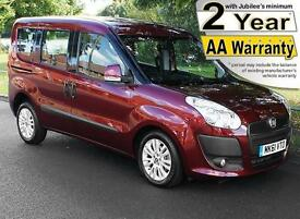 2012(61) FIAT DOBLO 1.6D MULTIJET ELEGANZA WAV EVOLUTION WHEELCHAIR ACCESSIBLE