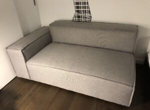 NEW Sect. Sofa in Nickel grey! Needs new home!