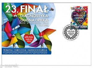 FDC - 23 Final of The Great Orchestra of Christmas Charity - 2015 - <span itemprop=availableAtOrFrom>Kraków, Polska</span> - FDC - 23 Final of The Great Orchestra of Christmas Charity - 2015 - Kraków, Polska