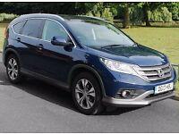 Honda CR-V 5-DOOR 2.0 i-VTEC EX 5dr LEATHER | SAT NAV | GLASS ROOF
