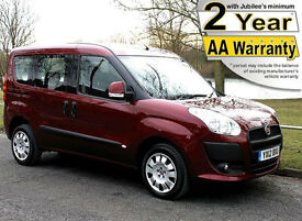 2012(12) FIAT DOBLO 1.4 MYLIFE LOW FLOOR WHEELCHAIR ACCESSIBLE VEHICLE