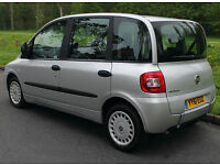 2012(61) FIAT MULTIPLA 1.9 JTD BROTHERWOOD DYNAMIC WHEELCHAIR ACCESSIBLE VEHICLE