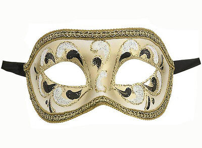 Mask from Venice Authentic Wolf Civet Colombine Carnival 57