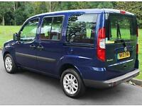 2010(10) FIAT DOBLO 1.4 DYNAMIC LOW FLOOR WHEELCHAIR ACCESSIBLE VEHICLE ~ AIRCON