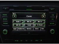 Skoda octavia vrs stereo screen sd card 6 cd changer