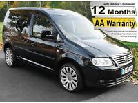 2008(57) VOLKSWAGEN CADDY 1.9 TDi LIFE SIRUS DRIVE FROM AUTO WHEELCHAIR ACCESS