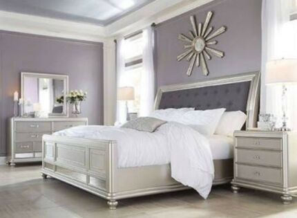 Fancy Bedroom Suite (barely used, negotiable price)