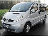 2013(62) RENAULT TRAFIC 2.0 DCi SPORT AUTO FULL LOW FLOOR WHEELCHAIR ACCESS