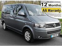 2012(61) VOLKSWAGEN CARAVELLE 2.0 TDi SE TRANSFER DSG AUTO WHEELCHAIR ACCESSIBLE