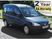 2010(10) VAUXHALL COMBO 1.3 CDTi TOUR ESSENTIA AUTO LOW FLOOR WHEELCHAIR ACCESS