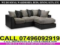 BYRON CORNER OR 3 AND A 2 SEATER SOFA...CALL NOW!