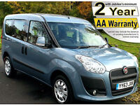 2014(63) FIAT DOBLO 1.4 MYLIFE LOW FLOOR WHEELCHAIR ACCESSIBLE VEHICLE