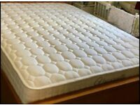 King size Pocket sprung and Memory foam mattress