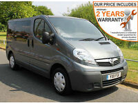2011(11) VAUXHALL VIVARO 2.0 CDTi LOW FLOOR WHEELCHAIR ACCESSIBLE ~ AIRCON