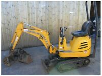 JCB Micro Digger HIRE £75 for first day