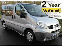 2010(10) RENAULT TRAFIC 2.0 DCi FULL LOWERED FLOOR WHEELCHAIR ACCESSIBLE VEHICLE
