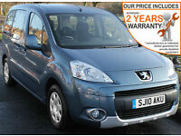 2010(10) PEUGEOT PARTNER 1.6 HDi S TEPEE DISABLED WHEELCHAIR ACCESSIBLE VEHICLE