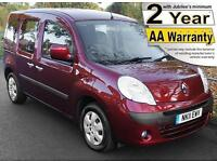 2011(11) RENAULT KANGOO 1.5 DCi EXPRESSION LOW FLOOR WHEELCHAIR ACCESSIBLE