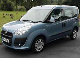 2012(61) FIAT DOBLO 1.4 MYLIFE LOW FLOOR WHEELCHAIR ACCESSIBLE VEHICLE