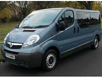 2013(13) VAUXHALL VIVARO 2.0 CDTi LWB AUTO LOW FLOOR WHEELCHAIR ACCESSIBLE
