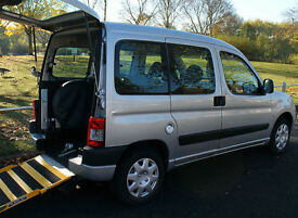 2009(09) PEUGEOT PARTNER 1.4 COMBI TOTEM WHEELCHAIR ACCESSIBLE VEHICLE