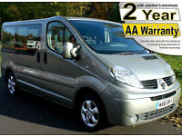2012(61) RENAULT TRAFIC 2.0 DCi SPORT CHAIRLIFT WHEELCHAIR ACCESSIBLE VEHICLE
