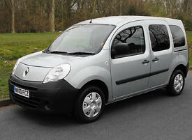 2011(60) RENAULT KANGOO 1.6 EXTREME AUTO LOW FLOOR WHEELCHAIR ACCESSIBLE VEHICLE