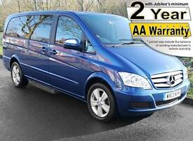 2013(13) MERCEDES VIANO 2.2 CDi BLUEEFFICIENCY LONG AUTO WHEELCHAIR ACCESSIBLE