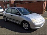 Honda Civic 1.6 £695, 12 months mot
