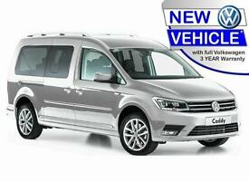 BRAND NEW VOLKSWAGEN CADDY 2.0 TDi BMT MAXI LIFE PLUS DSG AUTO WHEELCHAIR ACCESS