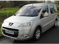 2009(09) PEUGEOT PARTNER 1.6 HDi S TEPEE LOW FLOOR WHEELCHAIR ACCESSIBLE VEHICLE