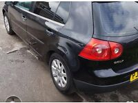 Vw MK5 (2004-2009) golf 1.6 fsi petrol 5 doors breaking for parts