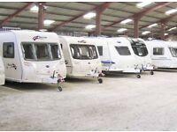 Winter Caravan Storage
