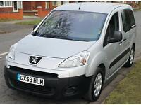 2010(59) PEUGEOT PARTNER 1.6 TEPEE URBAN LOW FLOOR WHEELCHAIR ACCESSIBLE VEHICLE