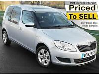 2014(63) SKODA ROOMSTER 1.2 SE 105 TSi ~ AIRCON ~ PANORAMIC ROOF