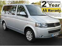 2013(13) VOLKSWAGEN CARAVELLE 2.0 TDi 140 EXECUTIVE DSG AUTO WHEELCHAIR ACCESS