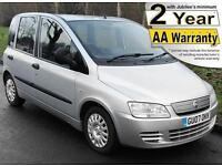 2007(07) FIAT MULTIPLA 1.9 JTD BROTHERWOOD DYNAMIC LOW FLOOR WHEELCHAIR ACCESS