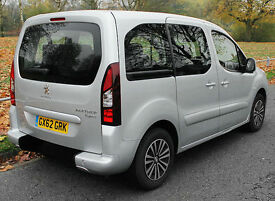 2013(62) PEUGEOT PARTNER 1.6 HDi S TEPEE LOW FLOOR WHEELCHAIR ACCESSIBLE VEHICLE