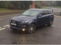 AUDI Q7 3.0L DIESEL S-LINE QUATTRO+2007+7 SEATER+FULLY LOADED+ROYAL BLUE+MAY P/X